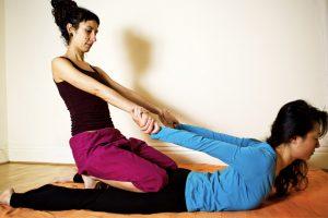Thai Massage Cobra stretch