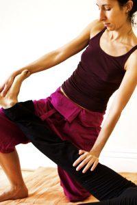 Thai Massage stretches
