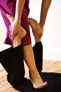 Thai Massage compression